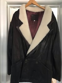 Leather coat with sheepskin Kitchener, N2B 1K9
