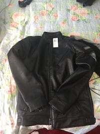 black leather full zip jacket Capitol Heights, 20743