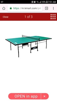 Pingpong table -  not exact picture Toronto, M2R 3T9