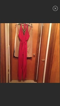 NWT!!  GORGEOUS Red Jumpsuit - Retail $86 Hagerstown, 21742