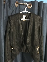 Black zip-up jacket Mississauga, L5L 5H7