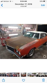 "1970-1972 Buick Skylark Hood  ""Selling Hood only"" not the car"