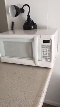 white General Electric microwave oven Athens, 30606