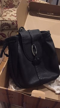 Brighton Black leather backpack style purse Columbia, 38401