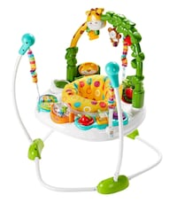 baby's white and green jumperoo Toronto, M3K 1L6