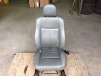 05 CHRYSLER 300 FRONT PASSENGER SIDE SEAT GRAY LEATHER #2311 Garland