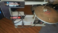 """Delta 16"""" variable speed scroll saw Milpitas, 95035"""
