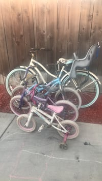 all 4 bikes for 25  some fixer uppers Ceres, 95307