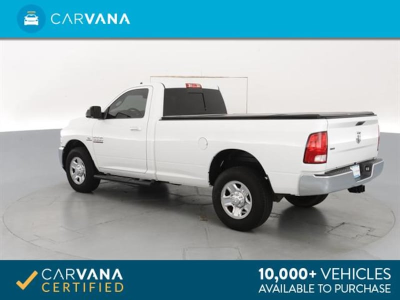 2015 Ram 3500 Regular Cab pickup SLT Pickup 2D 8 ft White  11