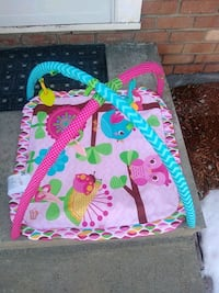 baby's pink and green activity gym Wappingers Falls, 12590