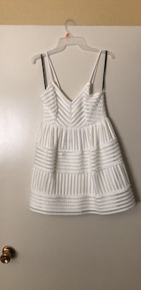 women's gray and white striped sleeveless dress Atwater, 95301