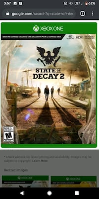 State of Decay 2 Xbox 1  Montréal, H1G 3R1