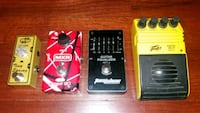 Guitar Effects Pedals delay reverb phaser eq Fort Worth, 76109