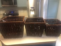 Brand new baskets  Lorton, 22079
