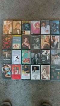 assorted cassette tape lot Los Angeles, 91335