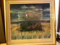 brown wooden framed painting of trees Santa Monica, 90404