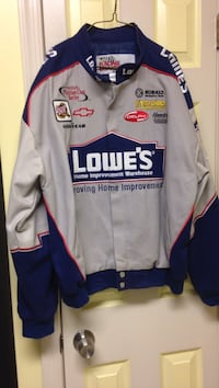 Lowes Nascar racing jacket mens medium
