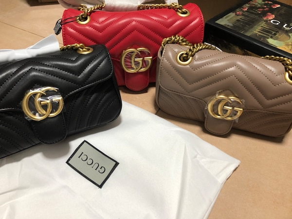 Marmont leather chain bag