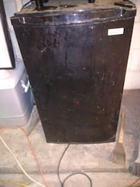 black single-door refrigerator Albuquerque, 87121