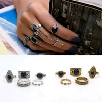 MARKED DOWN!!!BRAND NEW 5 peice ring set! Beautiful & fashionable!  Greenville, 29609