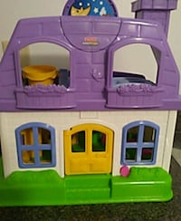 pink, purple, and green plastic dollhouse Vaughan, L4H 1T7