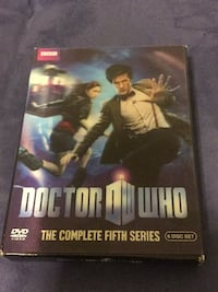 Doctor Who The Complete Fifth Series DVD Takoma Park, 20912