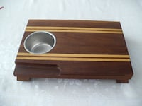 CHEESE BOARD - WALNUT & MAPLE - CUSTOM MADE - NEW MARKHAM