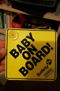 Baby on board sign Scotch Plains, 07076