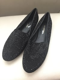Black stud shoes