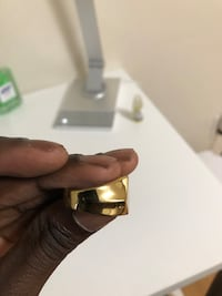 Vitaly gold ring size 9 Rockville, 20853