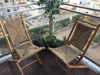 Handmade Bamboo Patio Chairs New Westminster, V3M