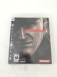 Metal Gear Solid 4 for PS3 Whitby
