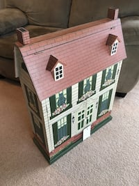 This Doll House is well-designed and can be used for years.  Great for storing diapers, changing supplies, and baby books during the infant years...  Perfect for small toys and books during the toddler years...  ...And a Doll House for later on. Anchorage, 99577