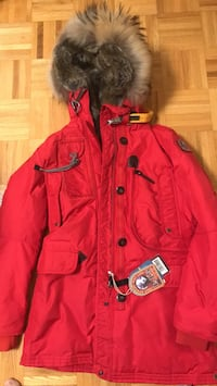 Red button-up jacket Ontario, L4H 1Y3
