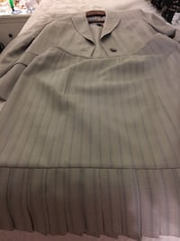 white and gray striped polo shirt 34 mi