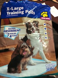 Top Paw X Large Training Pads