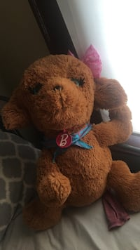 brown and blue bear plush toy Syracuse, 13207