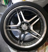 Mercedes S 550 All Season 4 Tires (With Rims)