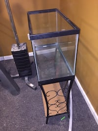 Rectangular clear glass tank with black frame Germantown, 20874