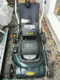 black and green push mower Nanaimo, V9R 2J6