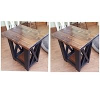 Farmhouse Rustic Side Table / End Tables St. Catharines, L2P 3C4