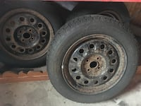 4 tires on rims (15inch) EXCELLENT condition Winnipeg, R2K