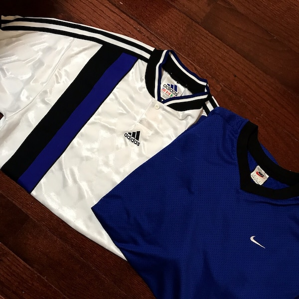 Vintage Nike and Adidas Jerseys