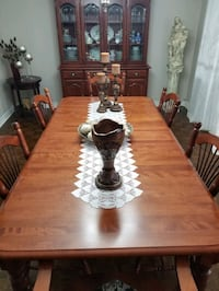 dining table with buffet/ china cabinet  Toronto, M9C 1G5