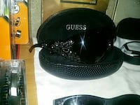 black Guess sunglasses with case
