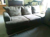 Brown sectional sofa  Surrey, V3R 6S8