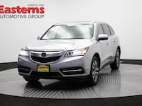 2015 Acura MDX Technology/Entertainment Pkg Hyattsville, 20784