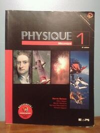 Physique 1 book Montreal, H4R 1A2