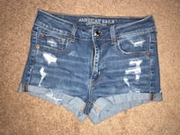 Ripped American eagle shorts size 4 Ellerslie, 31807