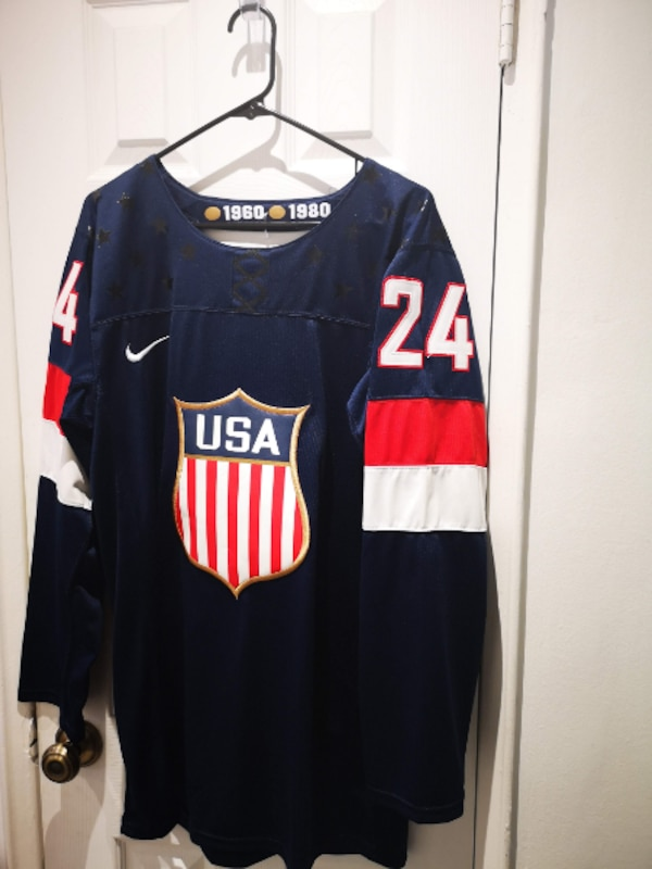 buy popular 0fbc1 d298a NHL NIKE TEAM USA #24 RYAN CALLAHAN NAVY BLUE AWAY
